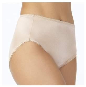 Vassarette Women's Undershapers Light Control Hi Cut Panties, Style 48001