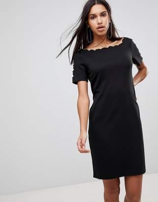 Y.A.S Scallop Shift Dress