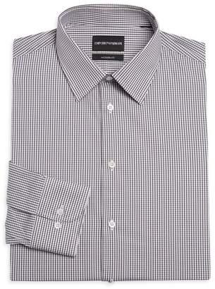 Emporio Armani Modern Check Dress Shirt
