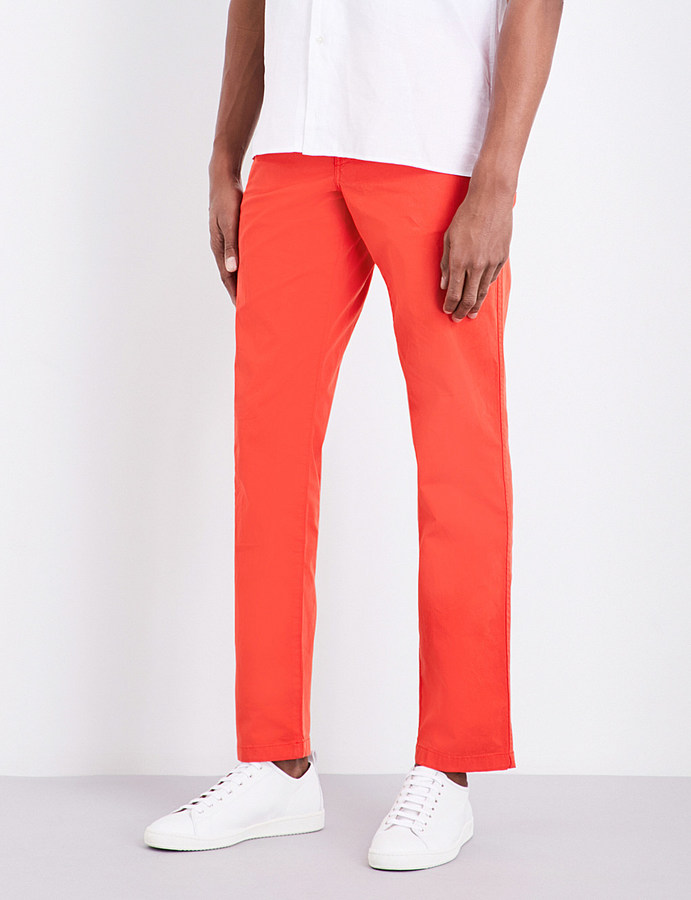 Paul SmithPs By Paul Smith Slim-fit cotton chinos