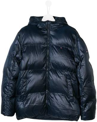 Tommy Hilfiger (トミー ヒルフィガー) - Tommy Hilfiger Junior TEEN flag padded jacket