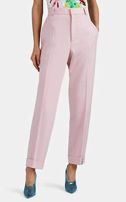 Y/Project Women's Y-Cuff Wool Trousers - Pink