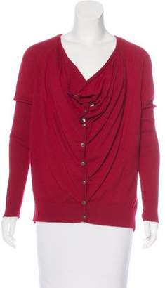 Eileen Fisher Knit Button-Up Cardigan