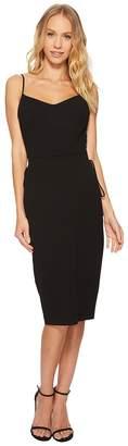 1 STATE 1.STATE Spaghetti Strap Slip Dress w/ Lace-Up Women's Dress