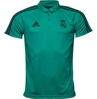 adidas Mens RMCF Real Madrid Polo Aero Reef