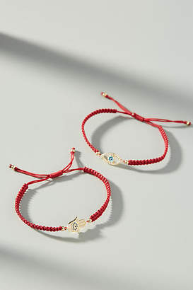Anthropologie See You Again Bracelet Set