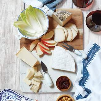 Sur La Table Marble and Mango Wood Cheese Board