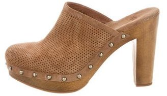 UGG Australia Perforated Platform Mules $90 thestylecure.com