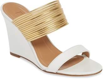 Aquazzura Rendez Vous Wedge Slide Sandal