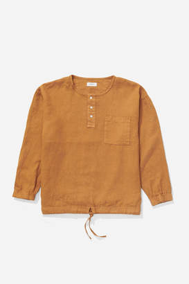 Saturdays NYC Coen Pop-Over Long Sleeve Shirt