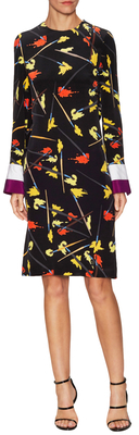 Emilio PucciSilk Cut Out Knee Length Dress