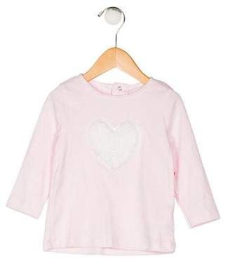 Isaac Mizrahi Girls' Knit Heart Top w/ Tags
