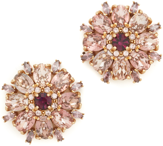 Kate Spade New York Trellis Blooms Statement Stud Earrings $78 thestylecure.com