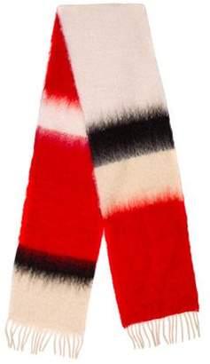 Loewe Wool & Mohair-Blend Scarf