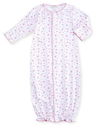 Kissy Kissy Autumn Breeze Convertible Pima Gown, Size Newborn-Small