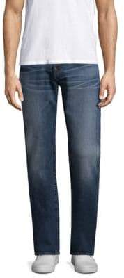 True Religion Ricky W Flap Straight-Fit Jeans