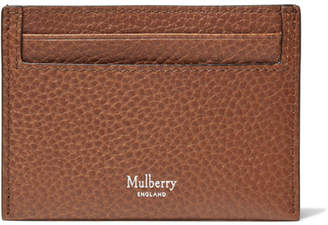 Mulberry Full-Grain Leather Cardholder - Men - Tan