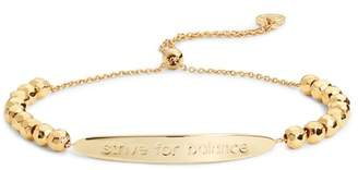 Gorjana Power Intention 'Strive For Balance' Bracelet