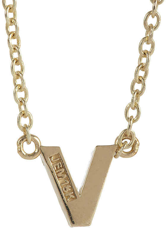 Jennifer Meyer Women's Initial Necklace