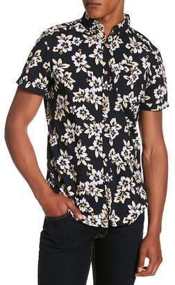 Soul Star Tiki Floral Print Regular Fit Shirt