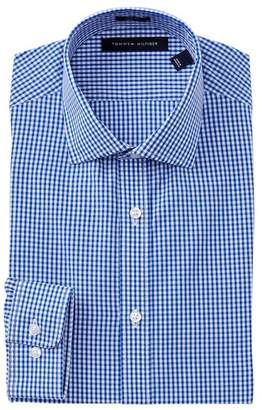 Tommy Hilfiger Gingham Slim Fit Dress Shirt
