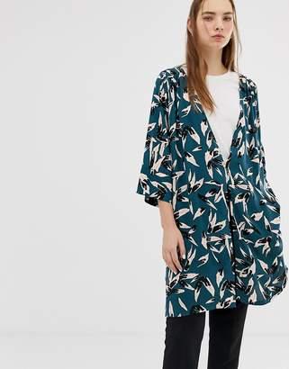 Minimum printed kimono blazer