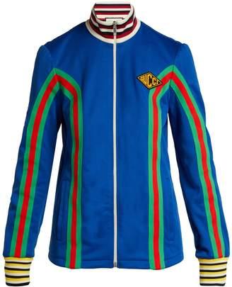 Gucci Logo-embellished stretch-cotton track jacket