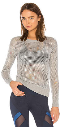 Maaji Deep Blue Lagoon Mesh Top