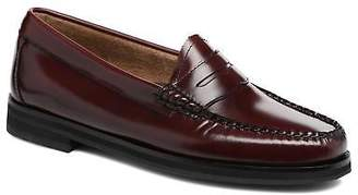 G.H. Bass Women's WINTER WEEJUN Penny /0NN Rounded toe Loafers in Burgundy