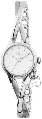 Radley Ladies Watch With Stainless Steel Case And Stainless Steel Half Bangle Ry4181