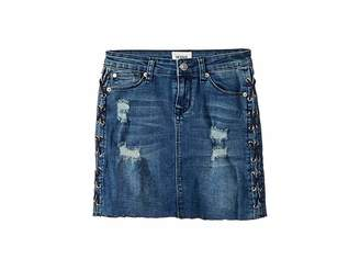 Hudson Side Laced Mini Skirt (Big Kids)