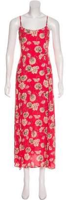 Flynn Skye Floral Print Midi Dress w/ Tags