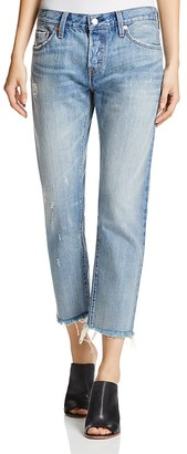 Levi's 501® Straight Leg Jeans in Blue Livin' $89.50 thestylecure.com