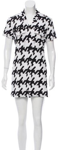 Balenciaga  Balenciaga Printed Shift Dress