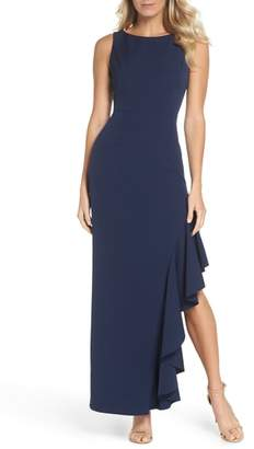 Vince Camuto Ruffle Gown