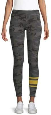 Sundry Camo Stripe Leggings