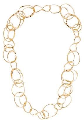 Aurelie Bidermann Maria Chain Link Necklace - Womens - Gold