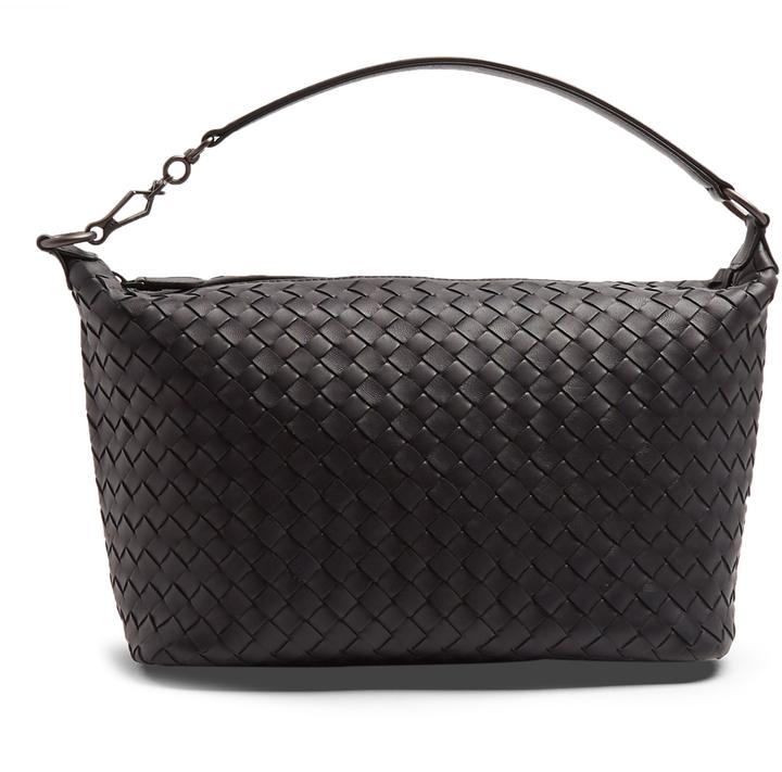 Bottega VenetaBOTTEGA VENETA Small intrecciato leather shoulder bag