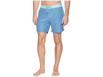 Mr.Swim Mr. Swim 3D Box Fixed Waist Printed Modern Boardshorts