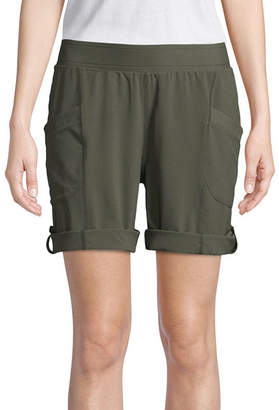 ST. JOHN'S BAY SJB ACTIVE Active Woven Pull-On Shorts