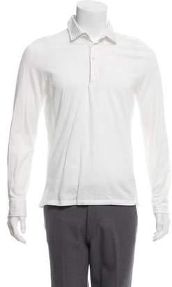 Isaia Collared Knit Shirt