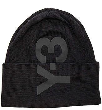 Y-3 Yohji Yamamoto Logo Beanie in Black. $120 thestylecure.com