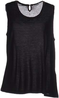SILK AND CASHMERE Tank tops - Item 37885282QO