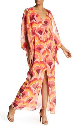 Trina Turk Blossom Printed Silk Blend Dress