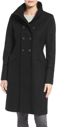 Women's Tahari Alice Wool Blend Officer's Coat $198 thestylecure.com
