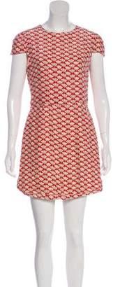 Rachel Antonoff Silk Printed Dress