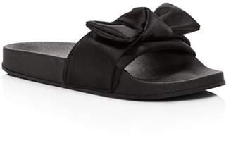 Steve Madden Girls' Silk Pool Slide Sandals - Little Kid, Big Kid