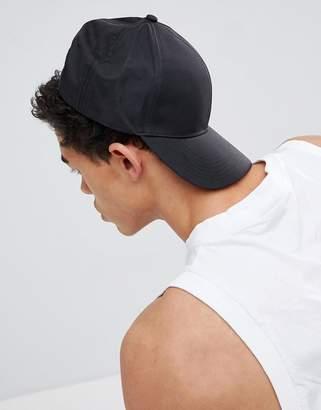New Look Baseball Cap In Black