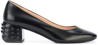 Tod's block heel pumps