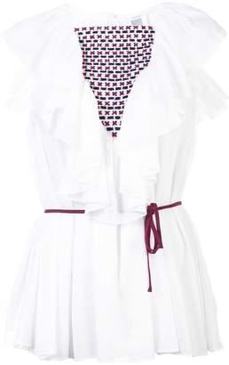 Rosie Assoulin ruffled collar blouse